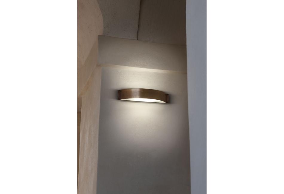 Lampade a parete in rame fashion aldo bernardi