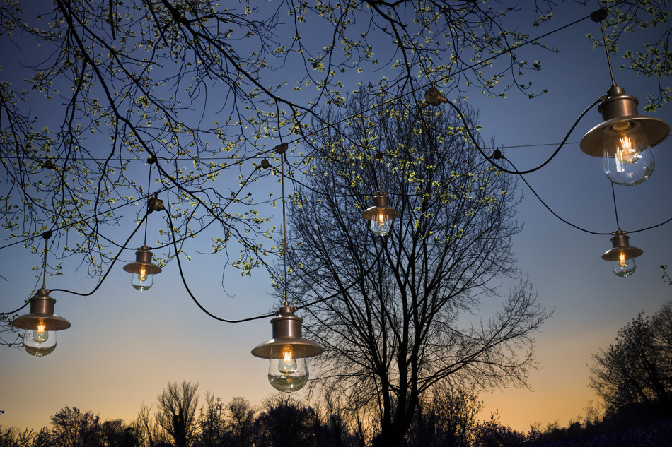 Lampada e applique per esterni con tesate guinguette outdoor