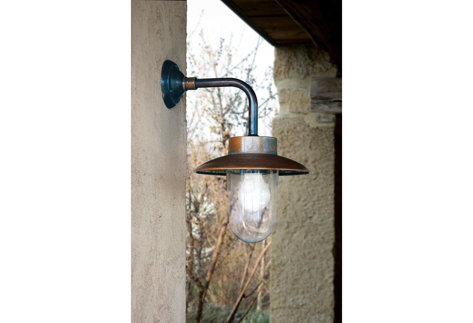 Lanterne a parete in ottone esterno: nabucco aldo bernardi