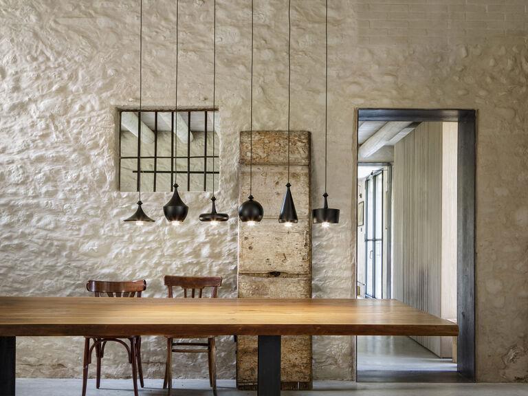 Lampade moderne in ceramica e ottone sistemi di illuminazione di