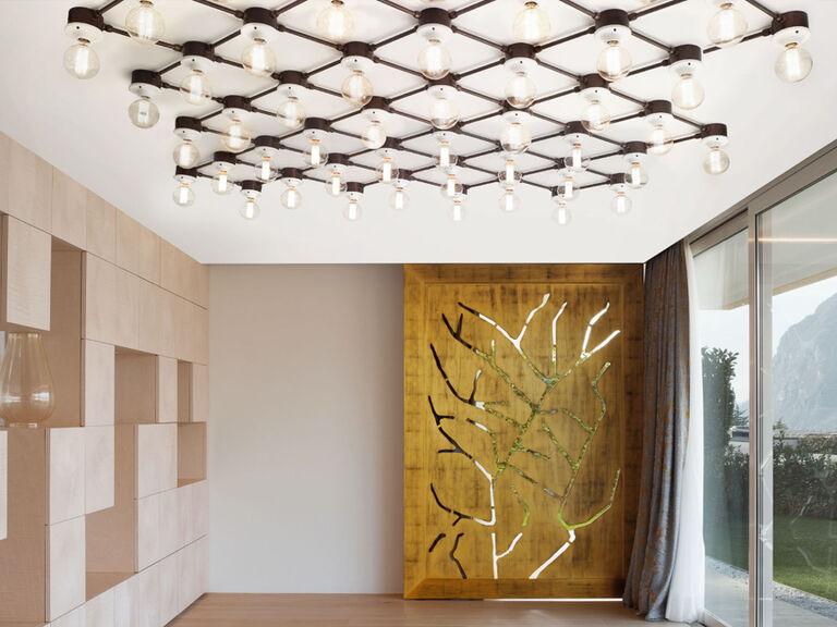 Illuminazione interni e illuminazione per esterni in ottone e