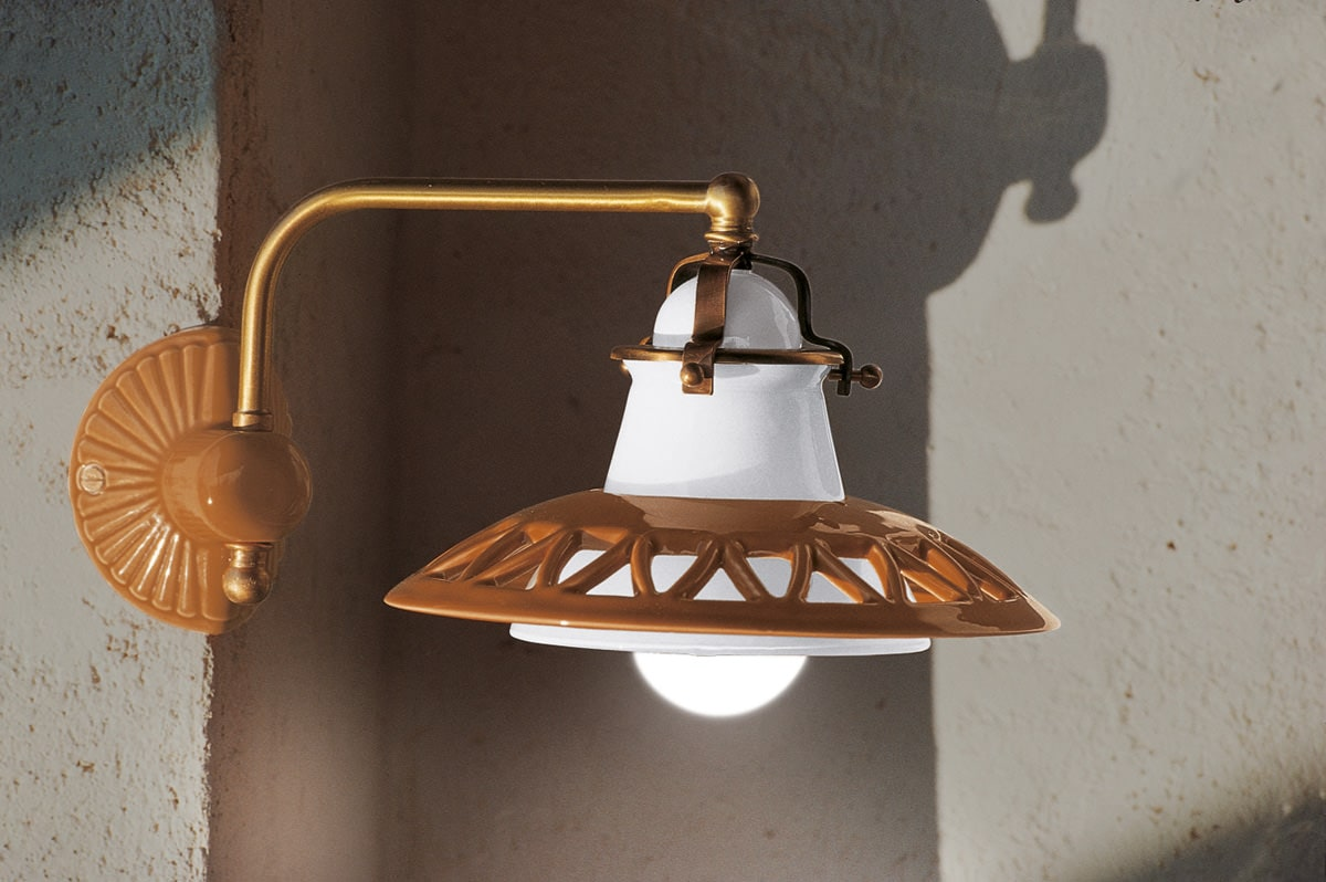 Lampade per interni, lampade in ceramica, saliscendi  Serie Laguna  Aldo Bernardi