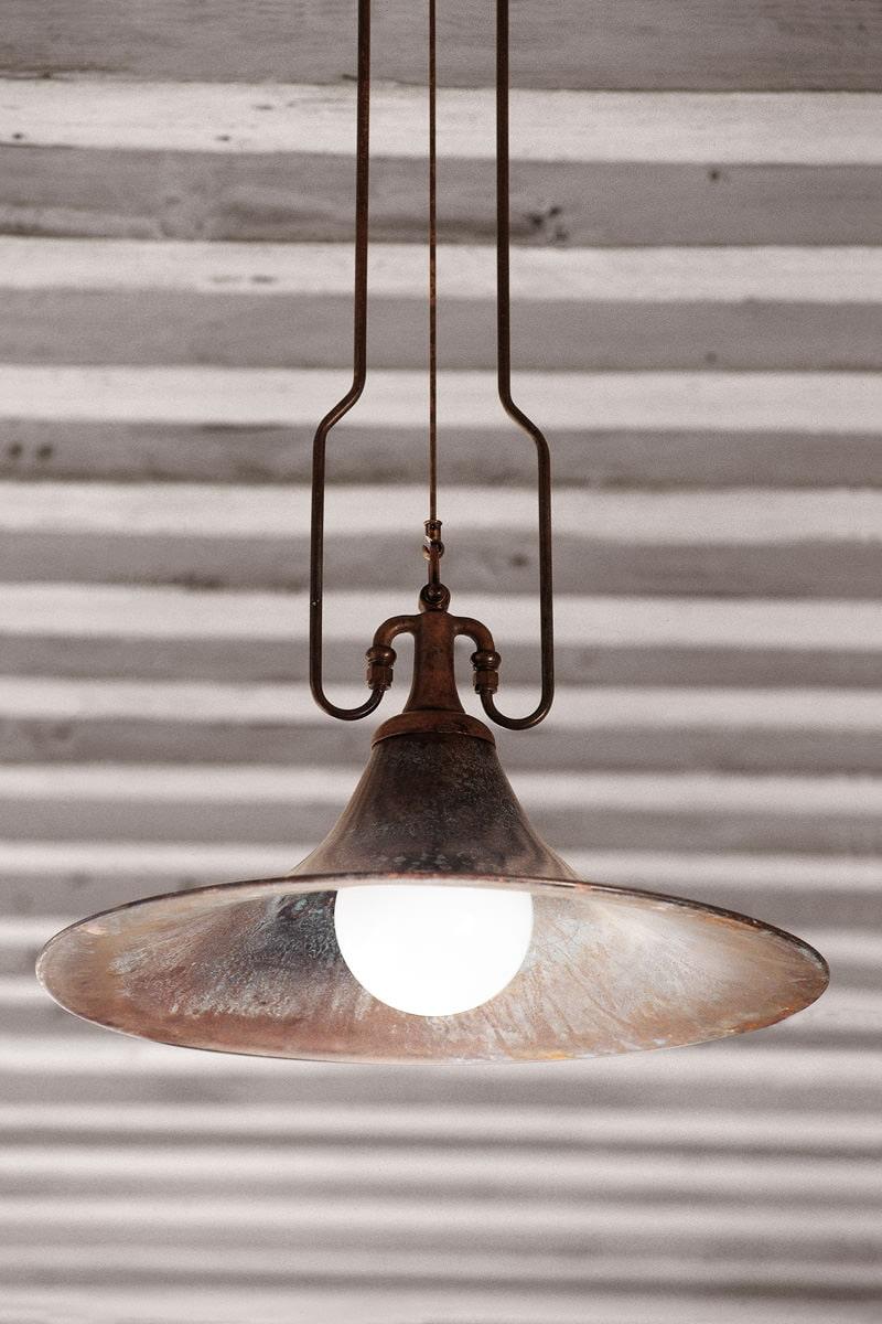 Lampada tubi di rame idee creative di interni e mobili for Rubinetti per tubi di rame