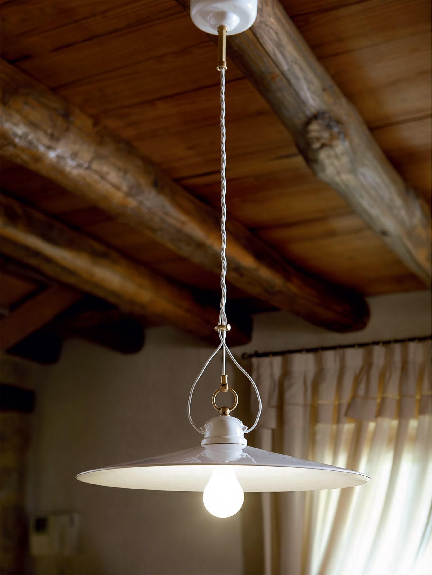 Illuminazione per interni lampade in ceramica serie for Lampade per interni