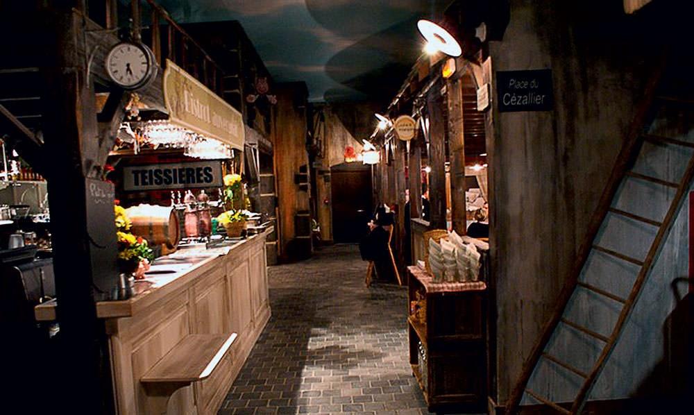 Progetto Illuminazione Ristorante : Retro vintage cafe ristorante bar illuminazione progettazione a